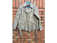 ALL SAINTS Khaki Synthetic Women Trench coat Size 8