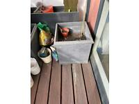 Large plant pots for garden and patio
