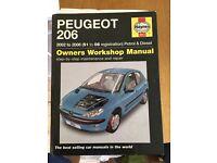 Peugeot 206 2002-2006 Haynes manual