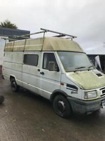 Iveco turbodaily 2.8 van rwd for breaking engine gearbox