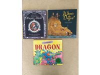 Childrens 3 Books Dragons and Wizards