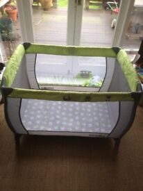 Travel Cot with Basinet by Babies r Us