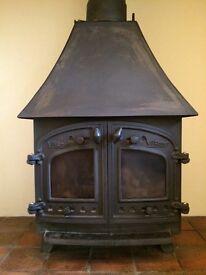 Village wood burner