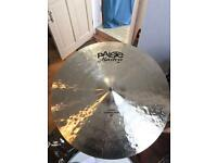 Paiste Masters Dark 20 inch crash ride cymbal