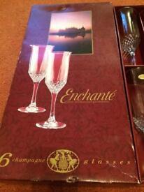 Enchante Champagne Glasses