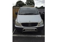 Mercedes Vito van for sale 2004, mot TIL Sept 18, would suit someone for parts, driving well £600