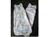 2 GROBAG sleeping bags, 18-36 months, 1 tog, good condition. From smoke and pet free home.