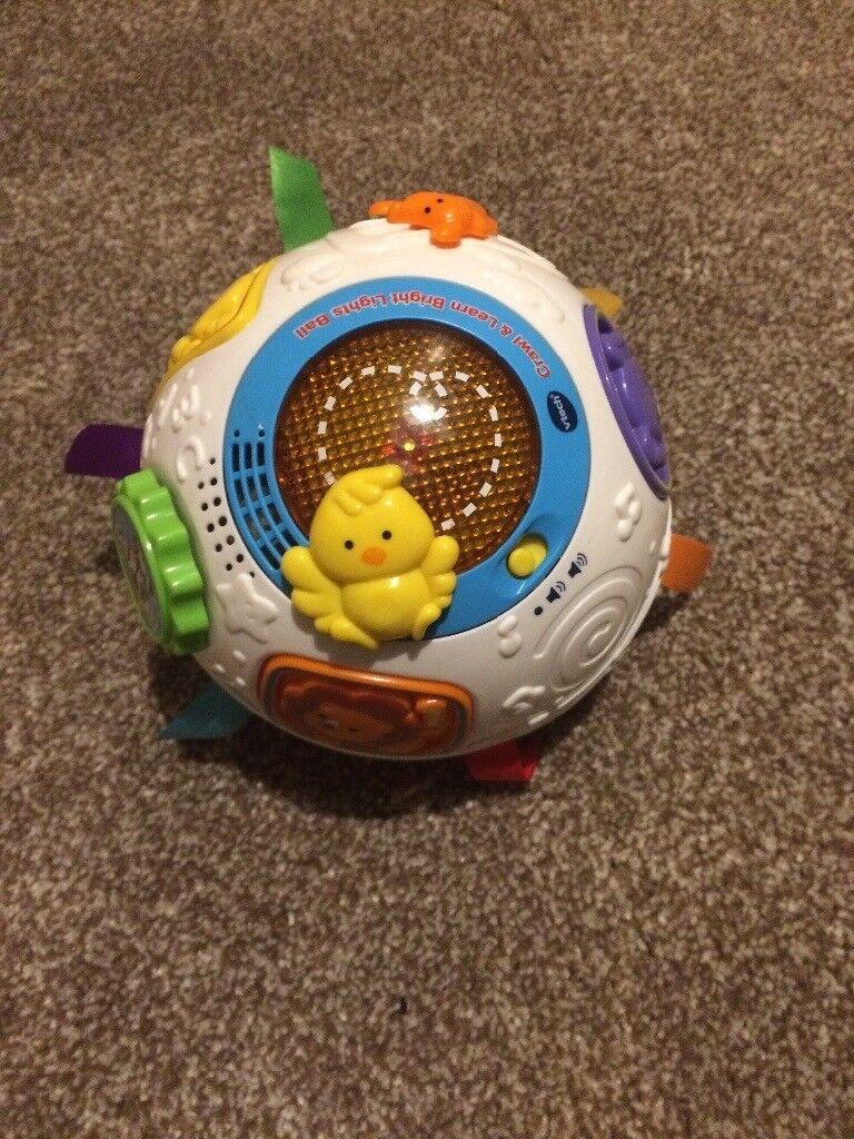 Baby crawling ball