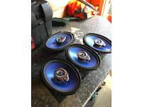 5x7 in car speakers focus ford mk1