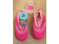 Brand New Pink Swim Shoes - Size 11