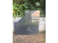 Black Granite Slab (1) - Kitchen Work Top, Corner Piece