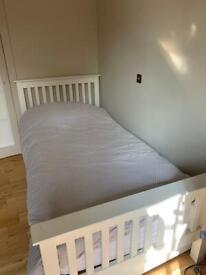 White Company single bed