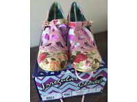 Irregular Choice Nicely Done Pink - size 6 / 39