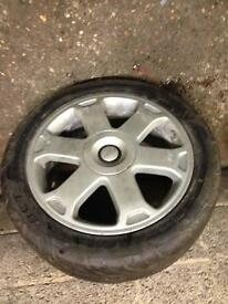 Audi s3 alloys x4 with tyres
