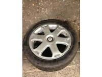 Audi s3 alloys x4 with tyres