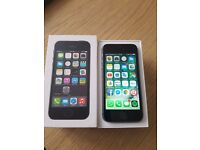 iPhone 5s Black Unlocked Great condition.
