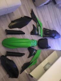 Kxf 250 plastics kit