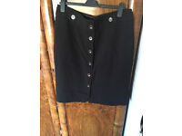 Debenhams black skirt