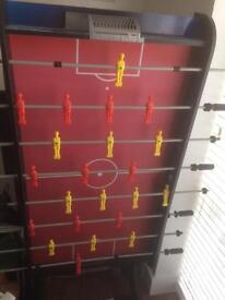 Full size fold football table