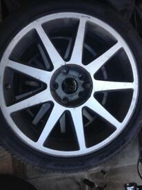 18 inch five stud alloys Toyota