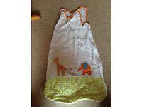 Gro sleeping bag 0-6 month, 1 tog