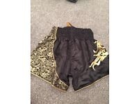 Muay Thai Boxing Shorts with tags