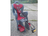 REAR CHILDS SEAT WITH QUICK RELEASE MOUNTING BLOCK
