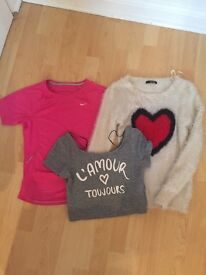 Size 8 bundle including Nike and H&M