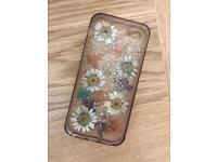 Pressed flower iPhone 5 case