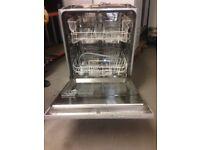 John Lewis Dishwasher, integrated, 60cm - Used