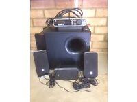 Logitech Z-5450 Computer Speakers.SUPER BASS NICE SOUND