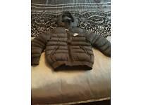 Boys nike puffa coat 7-8years