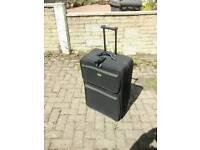 Large wheeled trolley suitcase
