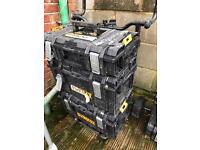 Dewalt trolley and tool boxes