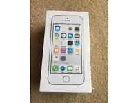 Apple iPhone 5S 16GB In silver New in sealed box