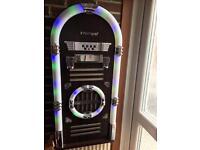 Large Intempo Bluetooth Jukebox - Dark Brown