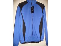 "ALTURA ""SLIPSTREAM"" WINDRPROOF JACKET IN BLUE, SIZE MED, NEW see details"