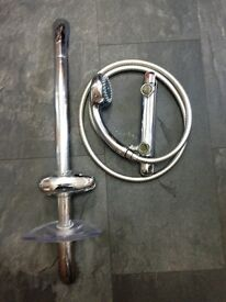 Gainsborough mixer shower with thermostatic valve