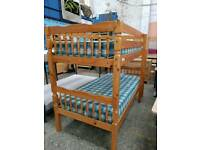 Pine bunk beds delivery available