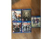 PlayStation 4 with 5 games