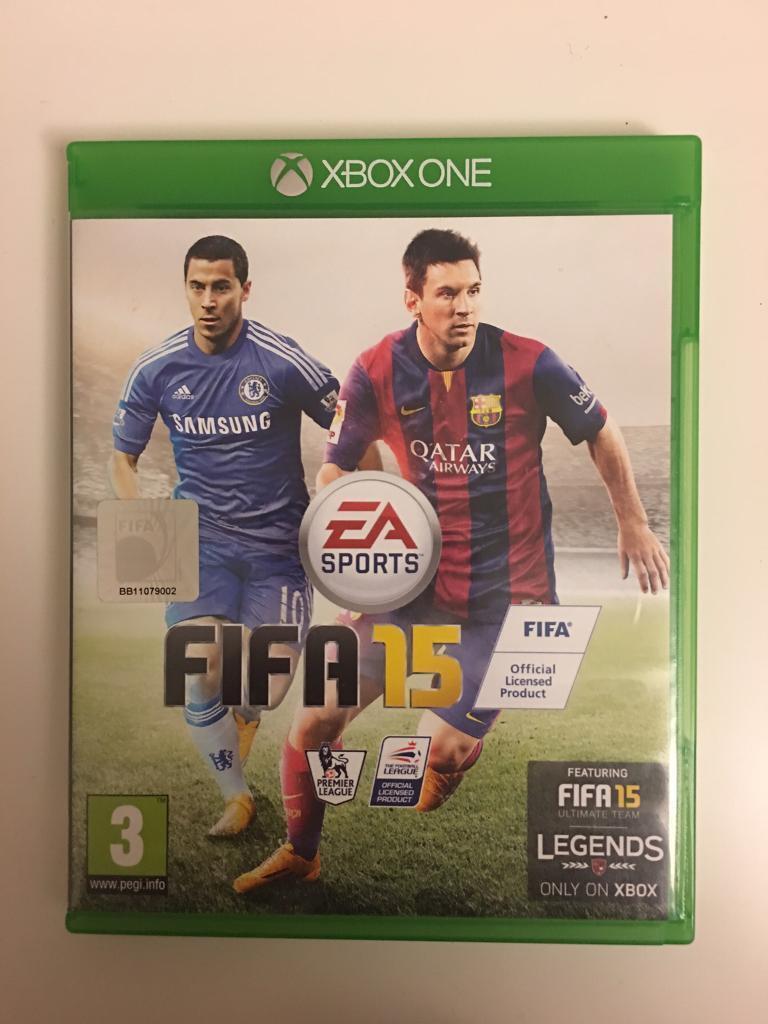 Fifa 15, Xbox one.