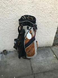 Mizuno carry golf bag with stand