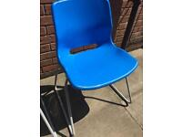 Ikea Moulded Plastic Chair