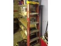 Ladders 6ft and step ladder
