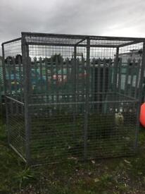 Cage steel storage cage (galvanised)