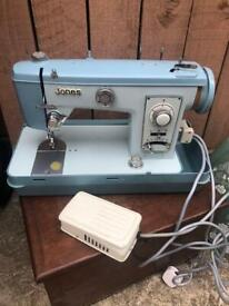 Vintage jones sewing machine model no 882