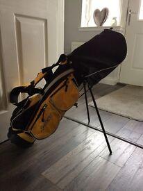 Junior golf set - Hardly used - £35