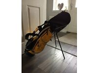 Junior golf set - Hardly used - £35