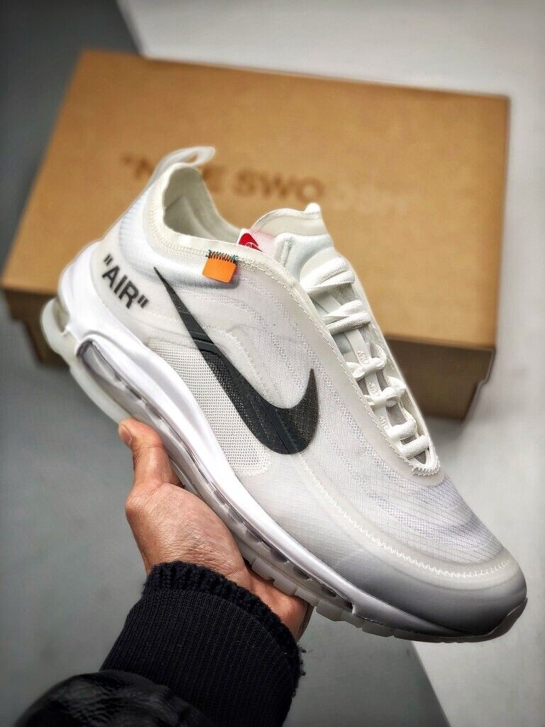 Nike air max 97 x off white white black limited (ALL SIZES) FULLY BOXED A++ in het centrum van Leeds, West YorkshireGumtree in het centrum van Leeds, West Yorkshire Gumtree