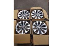 "Vw scirocco turbine wheels 18"" for sale!!"